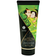 Kissable Edible Massage Cream by Shunga Erotic Art-Pear and Exotic Green Tea