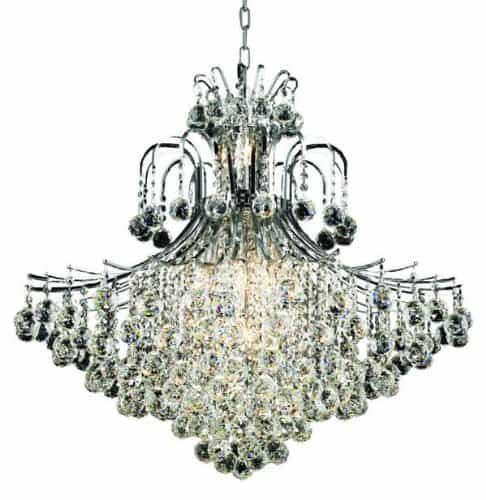 Contour Crystal Chandelier