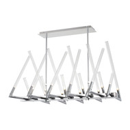 Zeev Lighting Matrix Collection Chrome Chandelier CD10094/20/CH