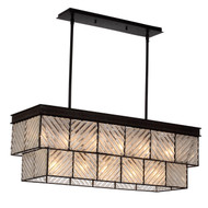 Zeev Lighting Adaman Collection Rustic Iron Chandelier CD10099/11/RI