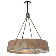 Zeev Lighting Plait Collection Polished Nickel Chandelier CD10105/8/PN
