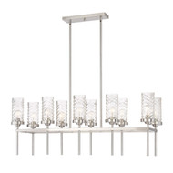 Zeev Lighting Triticus Collection Brushed Nickel Chandelier CD10119/10/BN
