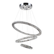 Zeev Lighting Blair Collection LED Chandelier CD10131/LED/CH-RD