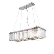 Zeev Lighting Quentin Collection Chrome Chandelier CD10133/10/CH