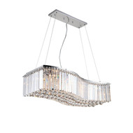 Zeev Lighting Quentin Collection Chrome Chandelier CD10134/12/CH