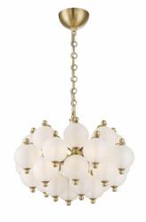 Zeev Lighting Rondure Collection Polished Brass Chandelier CD10173/6/PB