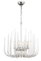 Zeev Lighting Astoria Collection Chrome Chandelier CD10176/8/CH