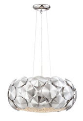 Zeev Lighting Crown Collection Chrome Chandelier CD10187/7/CH