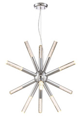 Zeev Lighting Empire Collection Chrome LED Chandelier CD10197/LED/CH