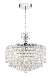 Zeev Lighting Belle Collection Chrome LED Chandelier CD10203/LED/CH