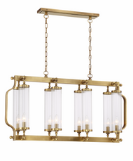 Zeev Lighting Regis Collection Aged Brass Chandelier CD10227/8/AGB