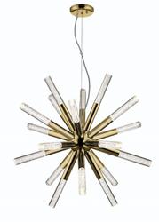 Zeev Lighting Empire Collection Golden Brass LED Chandelier CD10232/LED/GB