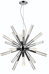 Zeev Lighting Empire Collection Chrome LED Chandelier CD10234/LED/CH