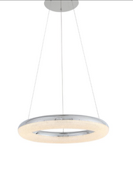 Zeev Lighting Orbit Collection Chrome LED Chandelier CD10248/LED/CH