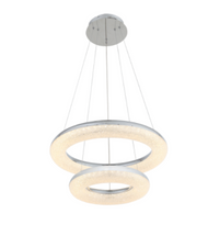 Zeev Lighting Orbit Collection Chrome LED Chandelier CD10249/LED/CH
