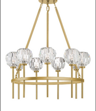 Zeev Lighting Parisian Aged Brass Chandelier CD10270/9/AGB