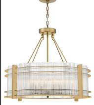 Zeev Lighting Regis Collection Aged Brass Chandelier CD10284/10/AGB