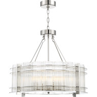 Zeev Lighting Regis Collection Polished Nickel Chandelier CD10285/10/PN