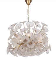 Zeev Lighting Floral Collection Gold Chandelier CD10289/8/GD