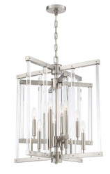Zeev Lighting Regent Collection Polished Nickel Chandelier CD10293/12/PN