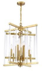 Zeev Lighting Regent Collection Polished Brass Chandelier CD10294/12/PB