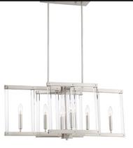Zeev Lighting Regent Collection Polished Nickel Chandelier CD10295/6/PN