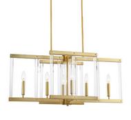 Zeev Lighting Regent Collection Polished Brass Chandelier CD10296/6/PB