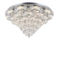 Zeev Lighting Imperial Collection Chrome LED Flush Mount FM60023/LED/CH