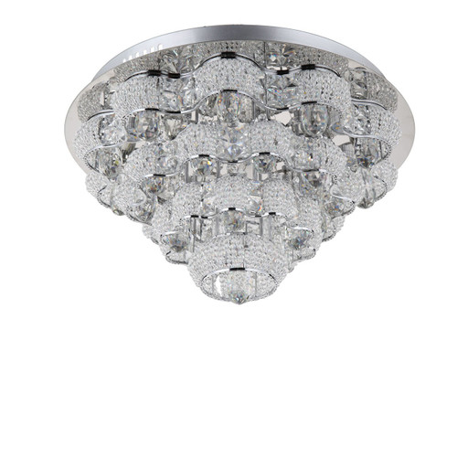 Zeev Lighting Imperial Collection Chrome LED Flush Mount FM60026/LED/CH