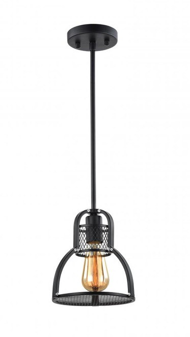 Zeev Lighting Canton Collection Dark Bronze Mini Pendant Ceiling Light MP40025/1/DBZ
