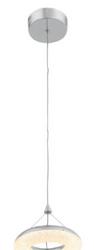 Zeev Lighting Orbit Collection Chrome LED Mini Pendant Ceiling Light MP40033/LED/CH