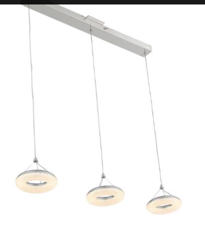 Zeev Lighting Orbit Collection Chrome LED Mini Pendant Ceiling Light MP40034/LED/CH