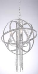 Zeev Lighting Cascade Collection Satin White Pendant Ceiling Light P30011/4/SW