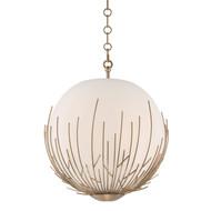 Zeev Lighting Consus Collection Satin Brass Pendant Ceiling Light P30061/5/SB