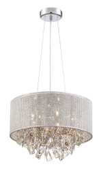 Zeev Lighting Pax Collection Chrome Pendant Ceiling Light P30078/5/CH