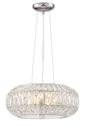 Zeev Lighting Lunar Collection Chrome Pendant Ceiling Light