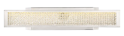 Zeev Lighting Polar Collection With Crushed Crystals Wall Sconce