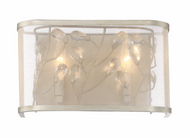 Zeev Lighting Vine Burnished Silver Wall Sconce WS70026/2/BNS