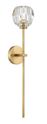Zeev Lighting Parisian Aged Brass Wall Sconce WS70030/1/AGB