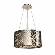 Worldwide Lighting Aramis Collection 9 Light Drum Round crystal Chandelier W83143C20