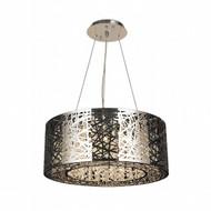 Worldwide Lighting Aramis Collection 12 Light Drum Round crystal Chandelier W83143C24