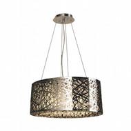 Worldwide Lighting Aramis Collection 10 Light Drum Round crystal Chandelier W83144C24