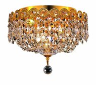 Empire Flush mount crystal chandeliers KL-41037-109-G