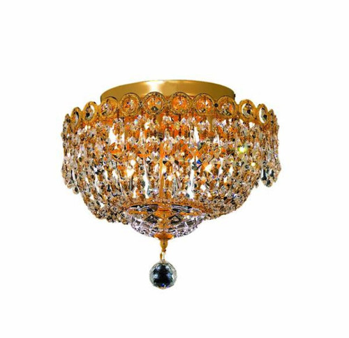 Empire Flush mount crystal chandeliers KL-41037-1210-G