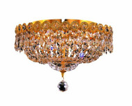 Empire Flush mount crystal chandeliers KL-41037-1410-G