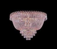 Flush mount crystal chandeliers KL-41037-2012-G