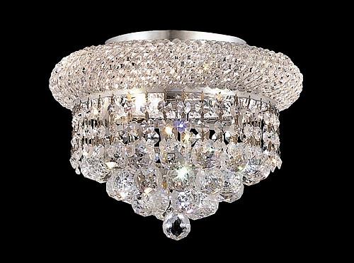 Bagel Crystal Flush Mount Light KL-41035-107-C