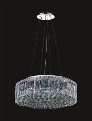 12 Light Modern maxim Crystal Chandeliers KL-41046-24