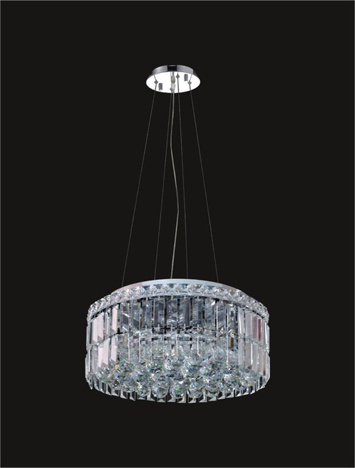 5 Light Modern maxim Crystal Chandeliers KL-41046-16