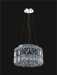 4 Light Modern maxim Crystal Chandeliers KL-41046-12